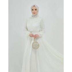 Tulle White Dress