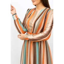 patterned  colorfull Dress