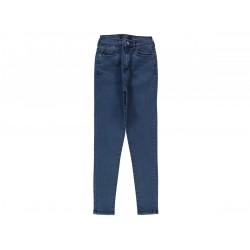 WOMEN'S LYCRA BLUE JEANS PANT  ( 8 Pants package )
