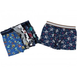 12 Pieces Multicolor  Patterned Boxer for 7/ 8 years old Boys