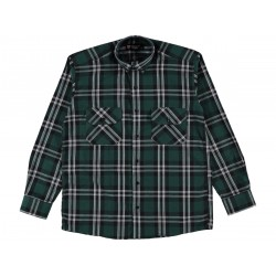 Long Sleeves buttoned Men Shirt with Double pockets
