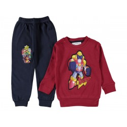 PRINTED Boys PAJAMA SUIT  4-6   YEARS ( 3 suits package ) ( the model could be changed )