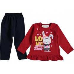 Colorful PRINTED GIRL PAJAMA SUIT 6-18 Month ( 4 suits package )
