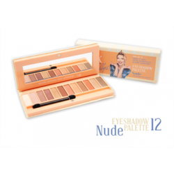 EYESHADOW PALETTE NUDE 12 Pieces
