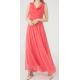 WOMEN'S Long chiffon Rose Dress  ( 4 Dresses package )