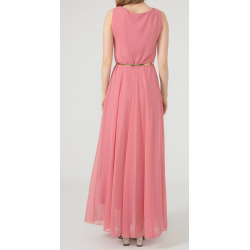 WOMEN'S Long chiffon Pink Dress  ( 4 Dresses package )